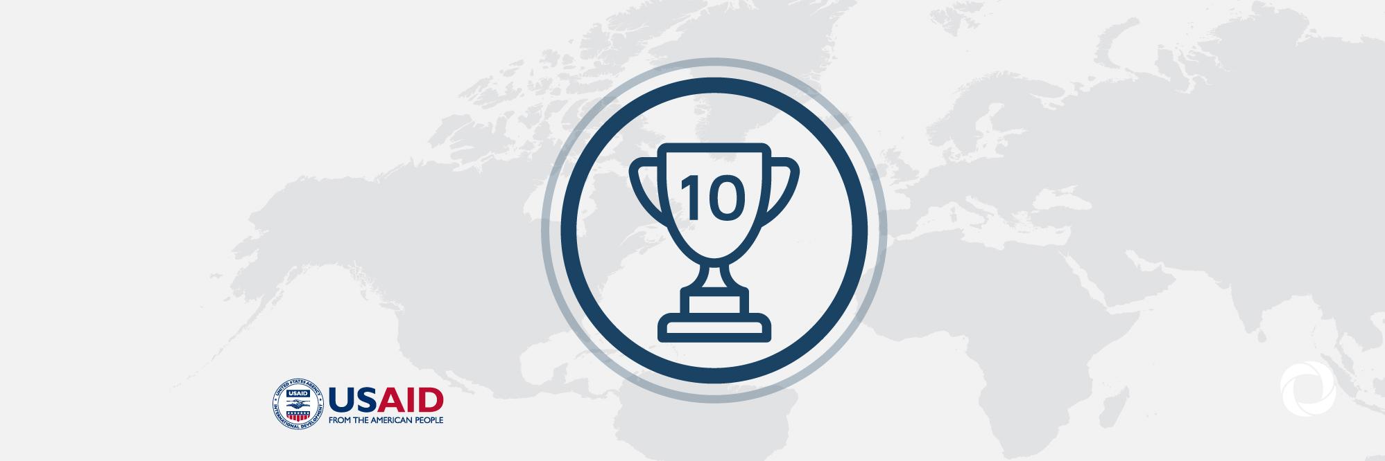 Top 10 Usaid Awardees Developmentaid